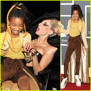 Willow Smith: Brad Pitt as Daddy Warbucks?