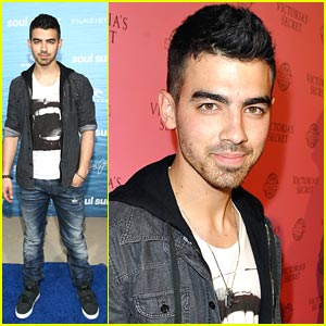 Joe Jonas Soul Surfs to Victoria Secret