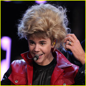 Justin Bieber Wigs Out on 'Wetten, Dass'