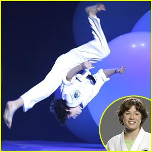 Leo Howard is Kickin' It!