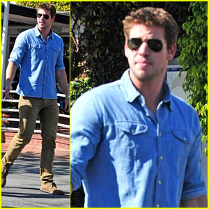 Liam Hemsworth: Fred Segal Fella