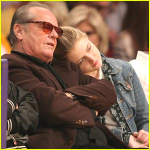 Lorraine Nicholson: Lakers Game with dad Jack!