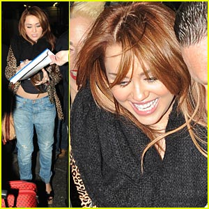 Miley Cyrus: SNL After-Party & Skits!