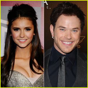 Nina Dobrev Gushes About Kellan Lutz