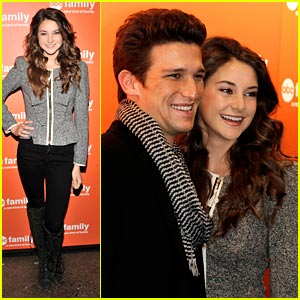 Shailene Woodley: ABC Family Upfronts with Daren Kagasoff!
