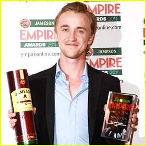 Tom Felton: Empire Awards 2011