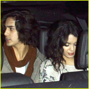 Vanessa Hudgens Slips A Sucker Punch to Avan Jogia
