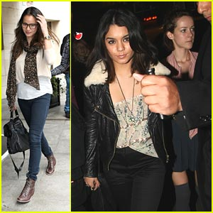 Vanessa Hudgens: Sucker Punch Dinner with Jamie & Jena!