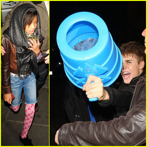 Justin Bieber &#038; Willow Smith: Night Out in London!