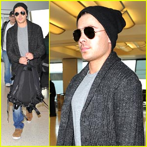 Zac Efron Heads Back To LA