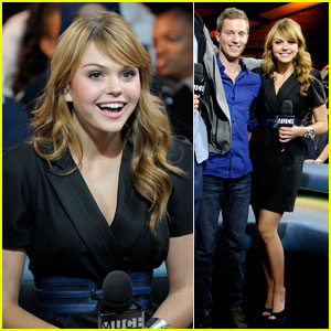 Aimee Teegarden Brings 'Prom' to MuchMusic