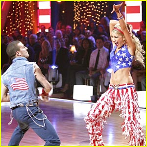 Chelsea Kane & Mark Ballas Have A 'Party In the USA'