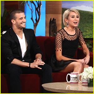 Chelsea Kane & Mark Ballas on Ellen TODAY!