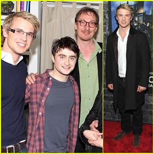 Freddie Stroma 'Succeeds' with Daniel Radcliffe
