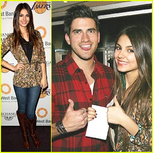 Victoria Justice &#038; Ryan Rottman: Let's Go Lakers!