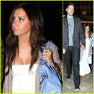 Ashley Tisdale & Scott Speer: Movie Date Night!