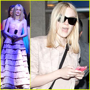 Dakota Fanning: Surprise, Oprah!