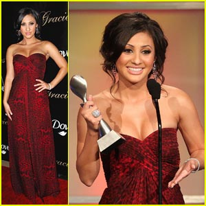 Francia Raisa: Gracie Award Winner!