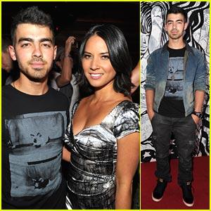 Joe Jonas: Maxim Hot 100 Party with Olivia Munn!