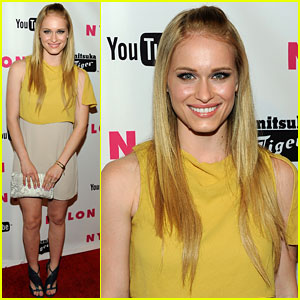 Leven Rambin: Lookin' Lovely for Nylon!