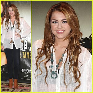 Miley Cyrus Brings 'Gypsy Heart' To Mexico