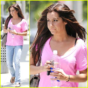 Ashley Tisdale: Hot Pink Pretty