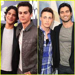 Tyler Posey: Teen Wolf at MTV Movie Awards!
