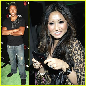 Brenda Song & Corbin Bleu: HTC EVO 3D Party!