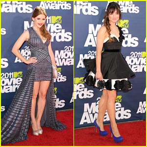 Crystal Reed & Holland Roden: MTV Movie Awards 2011