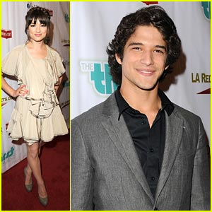 Crystal Reed &#038; Tyler Posey Get Thirsty
