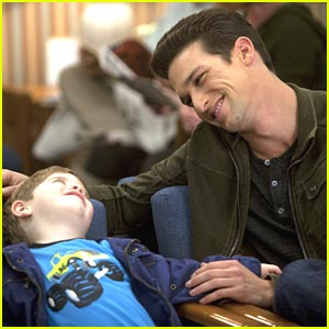 Daren Kagasoff: Hospital Visit with Baby John