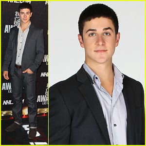 David Henrie: NHL Awards 2011