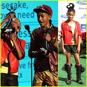 Jaden &#038; Willow Smith: YoungStar Award Winners!