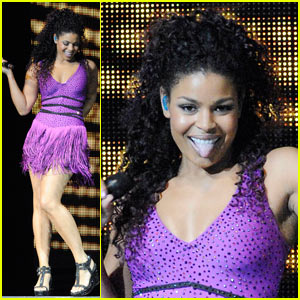 Jordin Sparks: Pretty in Purple