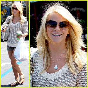 Julianne Hough: Hair Salon Hottie!