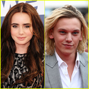 Lily Collins: Jamie Campbell Bower 'Nailed It' As Jace Wayland