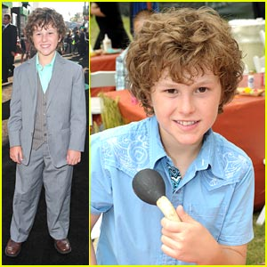 Nolan Gould Goes 'Green' After Elizabeth Glaser
