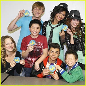 JJJ Shakes It Up with Good Luck Charlie