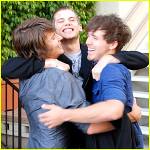 Tony Oller: Group Hug with Devon Werkheiser &#038; Stephen Lunsford!