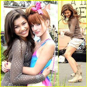Zendaya & Bella Thorne: Send In Your Questions!
