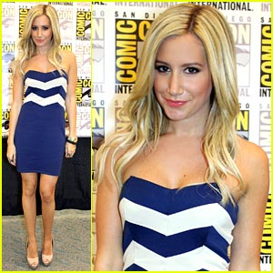 Ashley Tisdale: Comic-Con Interview -- JJJ Exclusive!