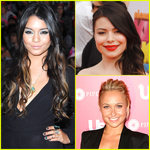 Vanessa Hudgens & Miranda Cosgrove: Celebrities For Charity