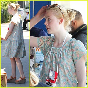 Elle Fanning is Very Vogue