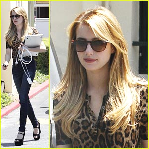 Emma Roberts: It's A Drybar Day