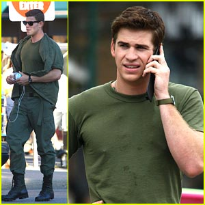 Liam Hemsworth & Austin Stowell are AWOL
