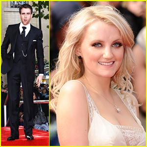 Evanna Lynch &#038; Matthew Lewis Take Over Trafalgar Square