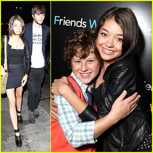 Sarah Hyland: 'Friends With Benefits' Screening with Nolan Gould