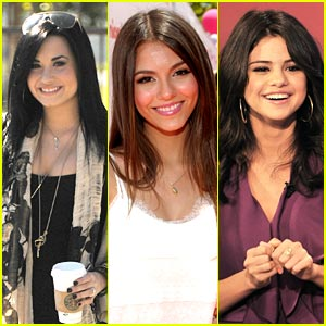 Victoria, Selena & Demi: Different & Alike In Good Ways