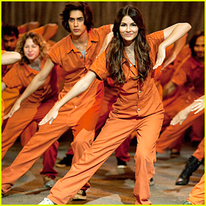 Victoria Justice Is All 'Locked Up'