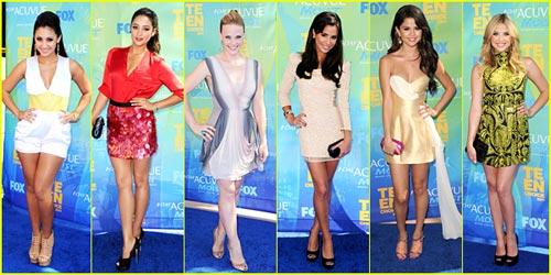 2011 Teen Choice Awards -- Best Dressed Poll!